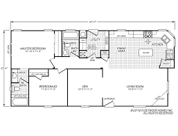 Fleetwood Manufactured Home Floor Plans by Festival Ii 24502k Fleetwood Homes