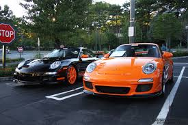 black porsche gt3 file black and orange porsche 997 gt3 rs jpg wikimedia commons