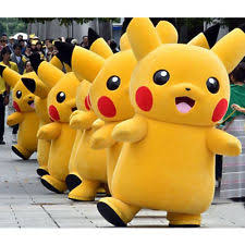 pikachu costume pikachu mascot costume party go