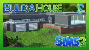 the sims 3 build a house part 1 split level youtube