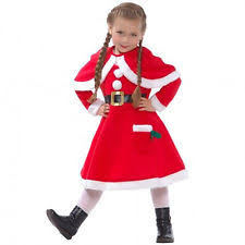 complete christmas costumes for girls ebay