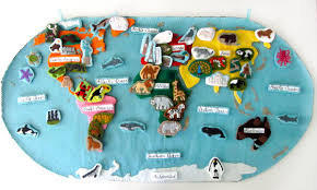animals of europe for the montessori wall map u0026 quietbook with