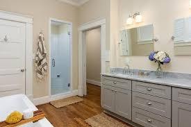 Jute Bath Mat Gray Dual Vanity With Marble Countertop Transitional