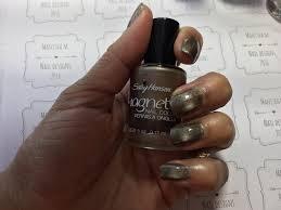 gold magnetic mani