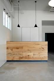 Simple Reception Desk Simple Wood Facade For Reception Desk Concepts 1 Pinterest