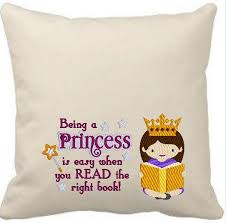 being a princess is easy reading pillow design 5x7 u2013 my darling