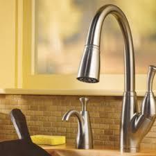 delta pilar kitchen faucet touch activated kitchen faucet delta pilar pull faucet with