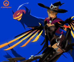 overwatch halloween mercy artstation overwatch mercy halloween hoi mun