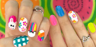 5 nail art designs even a newbie can do without any tools easy
