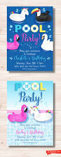Twins 1st Birthday Invitation Cards Best 25 Swim Party Invitations Ideas Only On Pinterest Beach