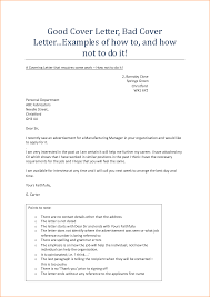 Good Cover Letter For Resume Examples by Redoubtable Examples Of A Good Cover Letter 3 Resume Example Ideas