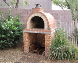 Building An Outdoor Brick Fireplace how to build a woodburning brick hirerush blog how diy outdoor