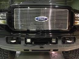 1999 2016 ford super duty dually rigid industries fog light