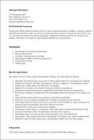 Job Description In Resume by Breathtaking Material Handler Job Description For Resume 92 For