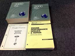 1998 ford ranger service manual set motors manuals literature