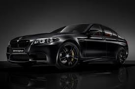 bmw car in black colour bmw m5 nighthawk limited edition announced for