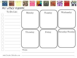 weekly calendar maker sogol co