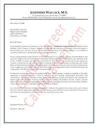 hospital administrator cover letter sample livecareer hospital