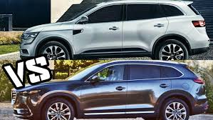 renault koleos 2017 7 seater 2017 mazda cx 9 vs 2017 renault koleos driving exterior interior