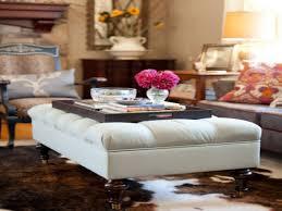 sofa large tufted ottoman ottoman footrest tufted storage