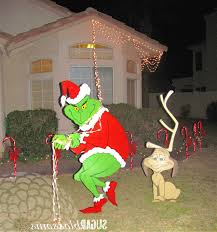 how the grinch stole yard decorations rainforest