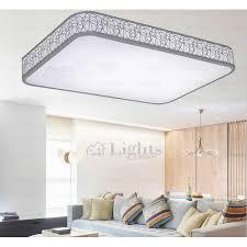 flush mount led can lights simple modern rectangle flush mount led bedroom ceiling lights