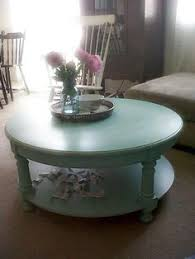 round distressed end table signature design by ashley mirimyn round accent table white