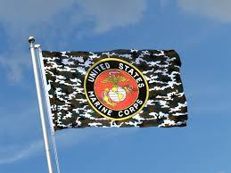 Flag Corps Us Marine Corps Camouflage 3x5 Ft Flag 90x150 Cm Royal Flags