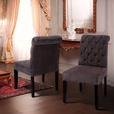 Black And Cream Dining Room - chair contemporary nailhead dining room set grey chairs french