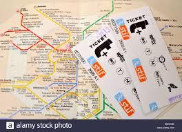 Map Of Paris Metro by Paris Metro Tickets Stock Photos U0026 Paris Metro Tickets Stock