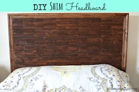 Queen Headboard Diy by Diy Shim Headboard