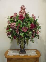 decorating artificial flower arrangements faux orchid wedding