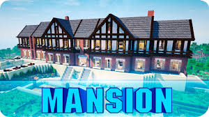 minecraft huge tudor mansion epic minecraft house map w