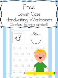 handwriting practice for kids free download of alphabet