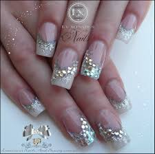 luminous nails beauty gold coast qld wedding nails with bling