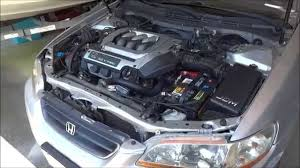 how to replace a radiator on a 1998 2002 honda accord v6 6th gen