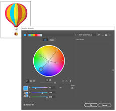 Color by Work With Color Groups Harmonies In Illustrator