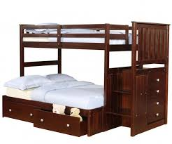Donco Bunk Bed Manhattan Stair Stepper Bunk Bed Bedroom