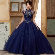 blue quinceanera dresses aliexpress buy sparkle navy blue quinceanera dresses 2017