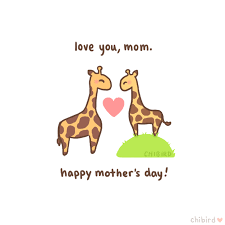 s day giraffe happy s day to all the wonderful mothers chibird