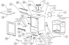 wood burning stove parts wb designs