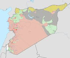 Syria Situation Map by File Syrian Civil War 3 Png Wikipedia