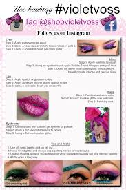 how to apply glitter like a pro u2013 violet voss cosmetics