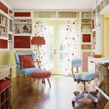 cute colorful home office design interior furniture things