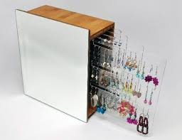 earring holder for studs earring storage ideas jewlr