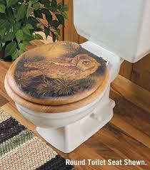 owl toilet seat wings
