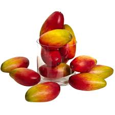 new 5 5 u0027 weighted faux mango set of 12 fruit more info could