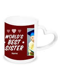 personalised heart handle mug design 7 custom print at best