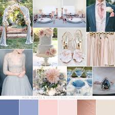color that compliment rose gold weddingbee