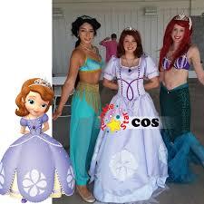 Sofia Halloween Costumes Aliexpress Buy Halloween Costumes Sofia Princess